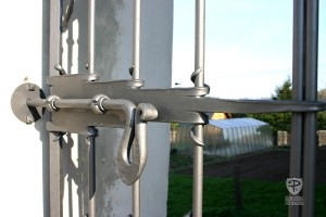 Garden Gate Latch System