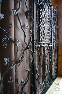 Iron Grape Vine Gate