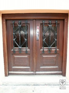 Tuscan Style Doors
