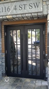 Metal Double Door